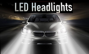 *NEW* LED HEADLIGHT Conversion Kit for FORD MODELS Lo-Beam/Hi-Beam/Fog Lights
