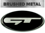 "*LIMITED EDITION* BRUSHED-BLACK ""GT"" BADGES EMBLEM FOR KIA Models"