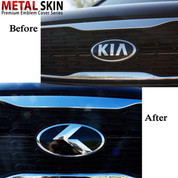 "Telluride  LODEN ""K"" Metal Skin Badge Emblem Grill / Trunk"