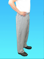 Houndstooth Basic Baggy Chefs Pant