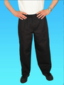 Comfort Fit Pant Black 100% Cotton