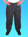 Comfort Fit Pant Chalk Stripe 100% Cotton