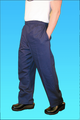 Comfort Fit Pant Navy 100% Cotton