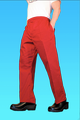 Comfort Fit Pant Crimson 100% Cotton