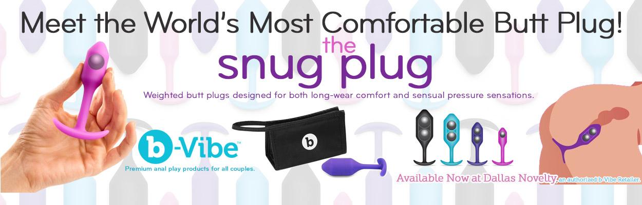 Meet the World's Most Comfortable Butt Plug, the b-Vibe Snug Plug.