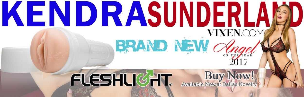 Buy the latest Fleshlight released, the Kendra Sunderland Vixen Angel Lady Male Masturbator.