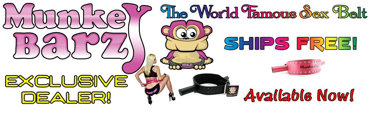 Revolutionizing sexual mobility, the Munkey Barz Sex Belt is the ultimate sex harness for total control.