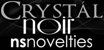 ns novelties crystal noir glass collection