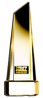 xbiz awards trophy