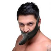 Master Series Face Fuk Strap-On Mouth Gag Dildo Black