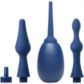 CleanStream Premium Silicone Enema Bulb & Flex-Tip Attachment Kit is available at Dallas Novelty AE230 This premium silicone travel enema bulb is now available with all of our coolest attachments! This 5 piece enema kit lets you get your fill of the nozzle of your choice. The silicone bulb is made of body-safe material that is safe for most allergies. Just screw on one of the included tips and squeeze- it is that simple! Choose from one of the two thin standard tips, a spade shaped anal pleasing tip, or a smooth tip with a swelled shaft for more pleasure. An adapter is included so you can attach the bulb to a standard enema hose.