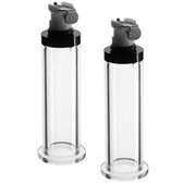 LA Pump Nipple Cylinder .5 inch Pair