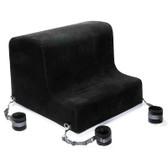 Liberator Obéir Spanking Bench with Microfiber Cuffs Black