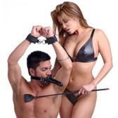 Master Series FemDom Male Orgasm Denial Chastity Kit