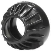 OXBALLS Turbine Silicone Cock & Ball Ring Black