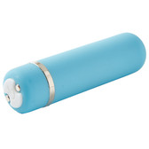 NU Sensuelle Joie 15-Function Rechargeable Bullet Vibrator Blue