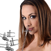 Master Series Game of Chains Extreme Clamp Bondage System