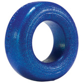 OXBALLS Atomic Jock Cock-T Silicone Cock Ring Blueballs Metallic Blue
