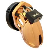 CB-X CB-6000S Male Chastity Device Designer Series Gold