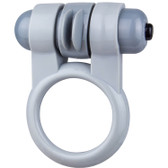 Screaming O Sport Vibrating Silicone Rotating Super-Flex Erection Ring Grey