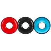 OXBALLS Ringer 3-pack Multi-Color Cock Ring Set