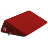 Liberator Wedge Position Pillow Flame Red Microfiber