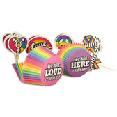Little Genie Pride Cupcake Decoration Set