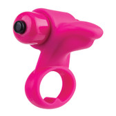 Buy the You-Turn 2-finger Rumbling 4-function Massager Strawberry Pink - Screaming O