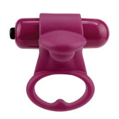 Screaming O You-Turn 2-finger Rumbling 4-function Massager Merlot