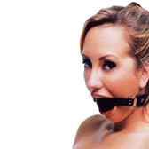 Strict Faux Leather XL 2 inch Silicone Ball Gag Harness