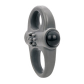 Screaming O Charged Yoga 10-FUNction Rechargeable Silicone Ring Vibe Grey