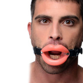 Master Series Sissy Lips Silicone Mouth Gag