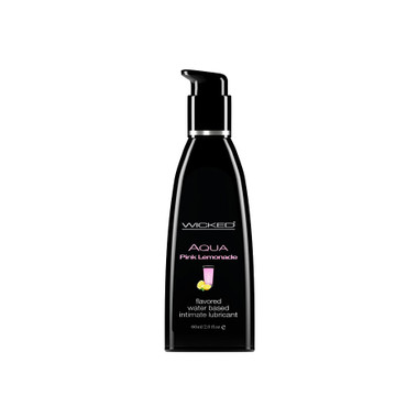 Buy the Aqua Pink Lemonade Flavored Water-based Lubricant 2 oz - Wicked Sensual Care