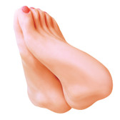 Buy the Keisha Grey's Foot Fetish Fantasy Realistic Feet Masturbator - Icon Brands