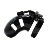 Buy the Man|Cage Locking Male Chastity Cage 01 Small Black - Shots Toys