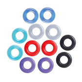 Buy the Baller's Dozen Stretchy Cock Rings 12-pack - Icon Brands The 9's