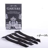 SpareParts Removable Garters Black Set of 4