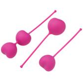OhMiBod Lovelife Flex Silicone Kegel Weights & Exerciser Set