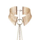 Bijoux Indiscrets Desir Metallique Gold Metallic Choker