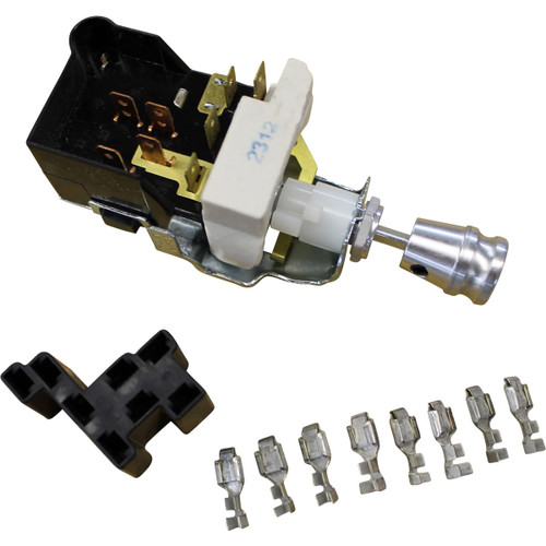 home switches headlight 3position headlight switch with billet knob