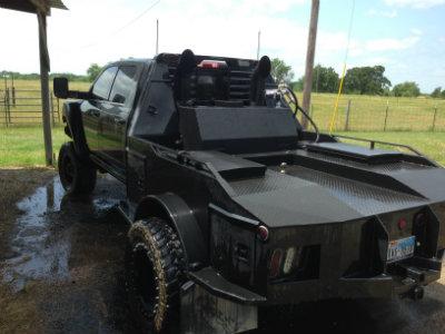 Custom tank, hauler bed