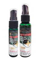 Helios CBD Spot Therapy + All Natural Topicals Massage Spray