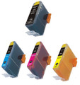 Compatible Black, Cyan, Magenta and Yellow Ink for select HP DeskJet, OfficeJet and PhotoSmart printers