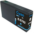 Buy Epson 676XL Cyan Ink Cartridge, High Yield, Compatible, T676XL220, for Epson WorkCentre Pro Series Printers