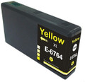 Buy Epson 676XL Yellow Ink Cartridge, High Yield, Compatible, T676XL420, for Epson WorkCentre Pro Series Printers