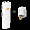 C5c/G2 Bundle - C5c - 4.9-6.4 GHz, 27 dBm, 802.11ac for PTP and PTMP, connectorized; G2