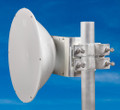 Jirous JRMC 400 1' 10 / 11Ghz High Performance Dish for Mimosa B11 & Ubiquiti AirFiber 11X