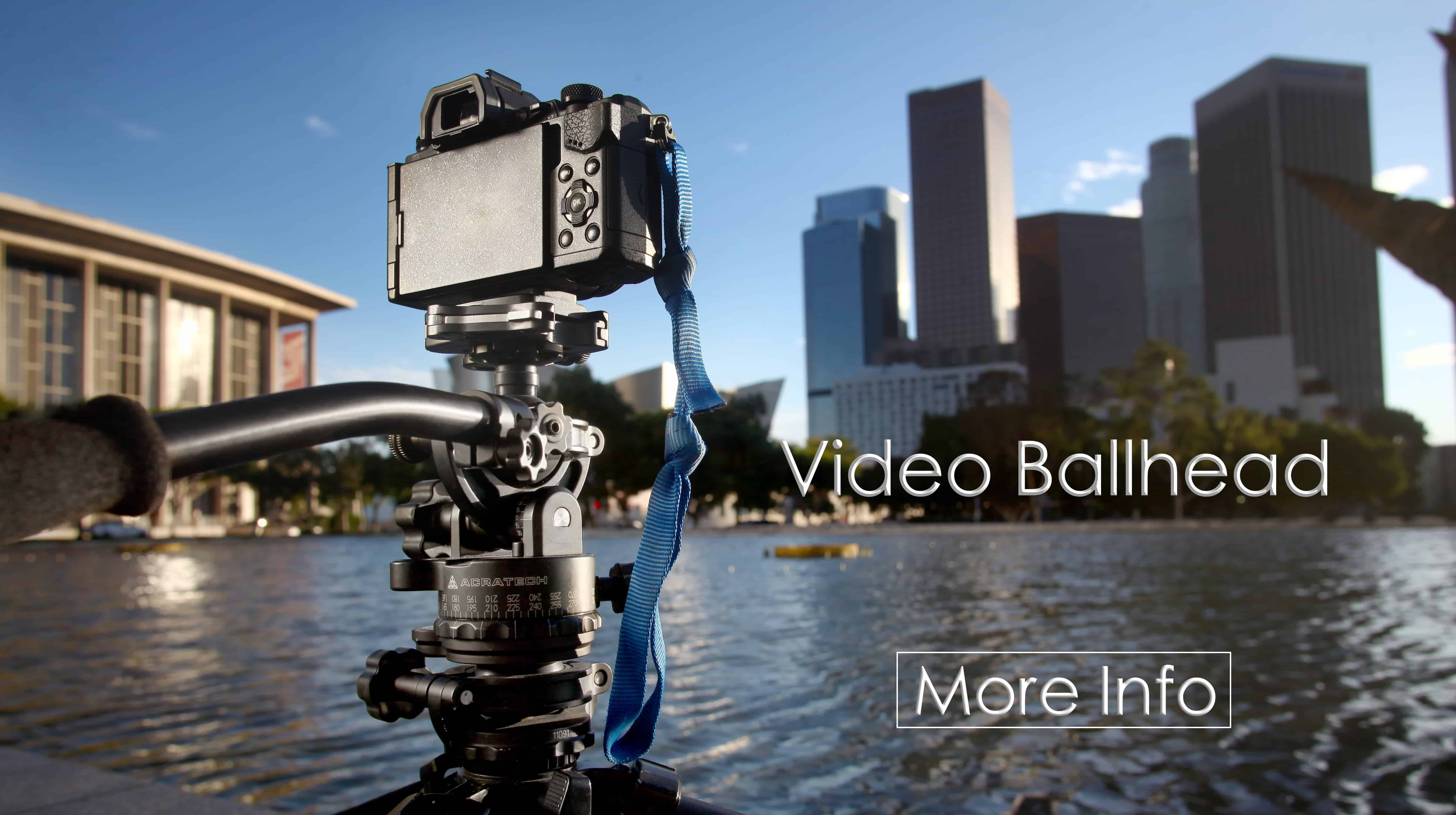 Tripod Ball Heads, Lightweight Travel Photography Gear - Acratech