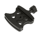 Arca Swiss compatible quick release clamp. Fits all Arca Swiss quick release plates.