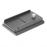 Fuji X-T1 camera plate. Compatible with Arca style clamps. Custom fit means no more twisting.